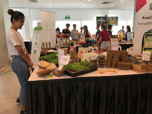 NTUC Eco Run Farmers Market 2018, Everything Green, Singapore,