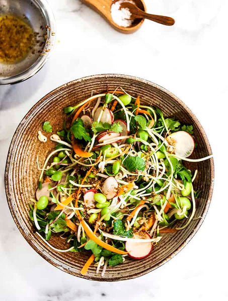 salad, recipe, microgreens, sprout, how to, use, sprout, cook,