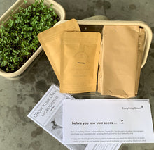 microgreen starter kit, sprouting kit, growing kit for microgreens, sprouts, singapore, corporate gift organic, corporate gift plants, corporate gift gardening