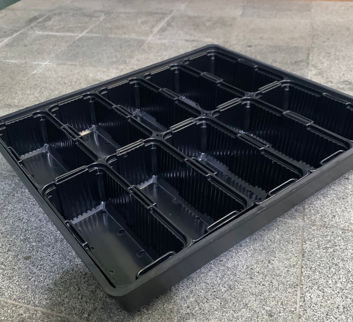 microgreens starter tray, germination tray for microgreens, 10 x 20 germination tray, no holes, with holes, singapore,