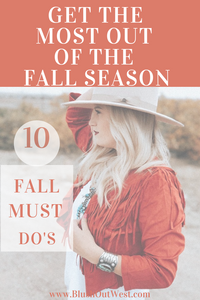 10 Fall Must Do's To Get The Most Of The Season