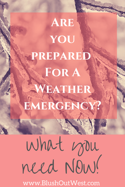 What You Need On Hand For Cold Weather Emergencies.