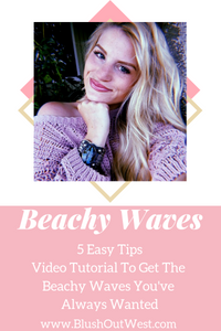5 Easy Tips On How To Get the Beachy Waves You've Always Wanted