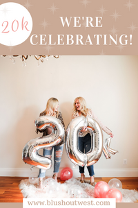 Celebration Time! We hit 20K on IG