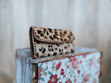 Leopard Hair on Hide Wallet
