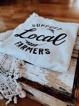 Support Local Farmers Pullover