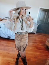The Dolly Fringe Skirt