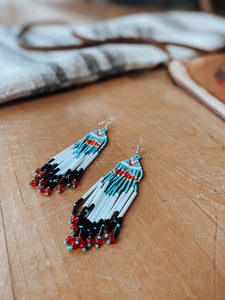 Native Inspired Beaded Earrings