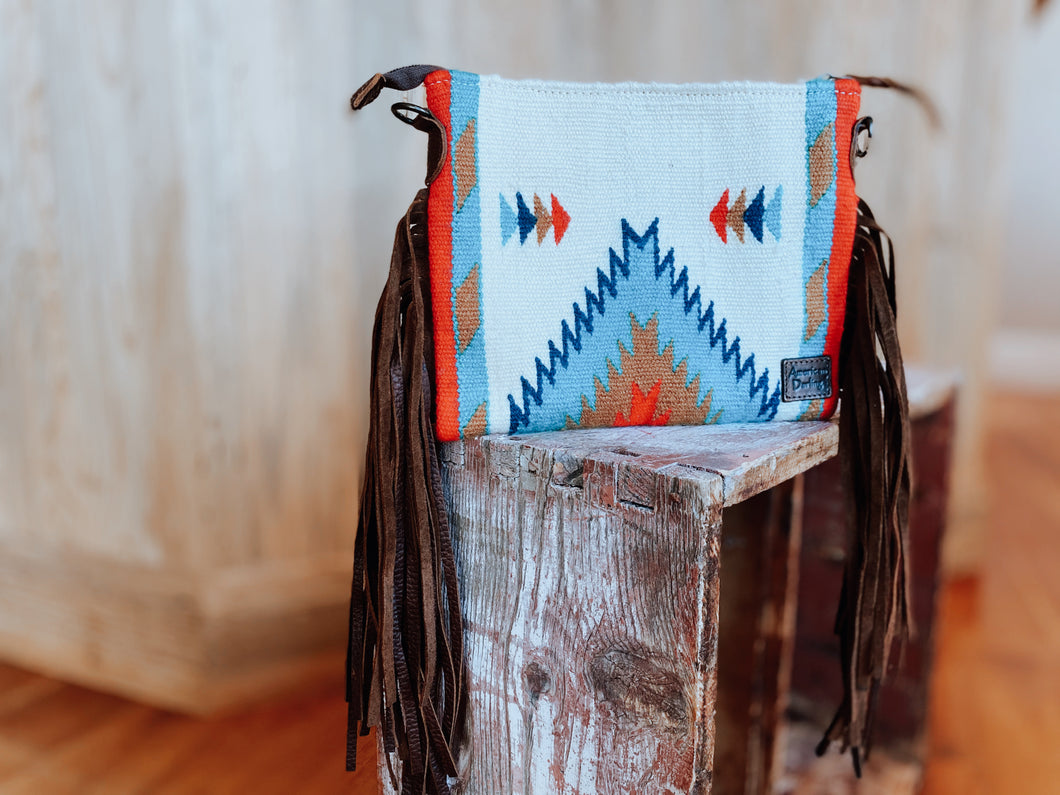 Multi-Color Navajo Clutch