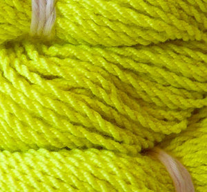 25 Pack Polyester YoYo String Yellow