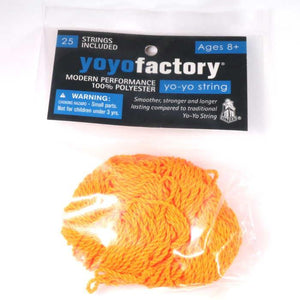 YoYoFactory 25 Pack 100% Polyester Strings