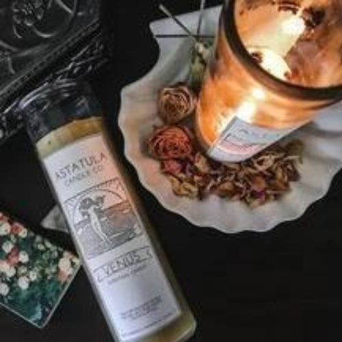 Venus Intention Candle for Love, Sensuality & Creativity