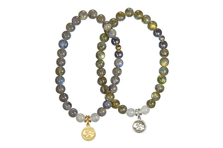 Bliss Wrist Wrap or Necklace, Lilac Stone – Third Eye Chakra