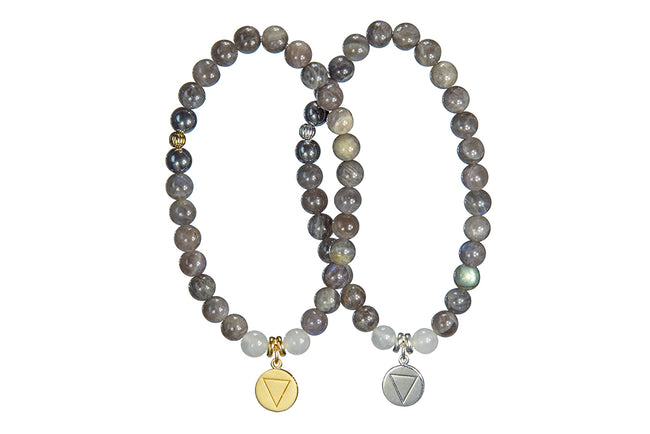 Labradorite and Water Sacred Element Bracelet