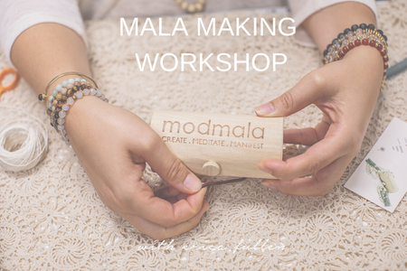 Mala Making Kit - Oat/Oat