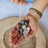 Natural Gemstone Pendulum