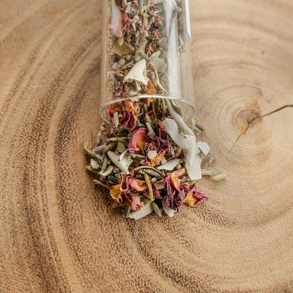 Loose Smudge,  Above Below Within Blend - Sage, Lavender + Rosebuds