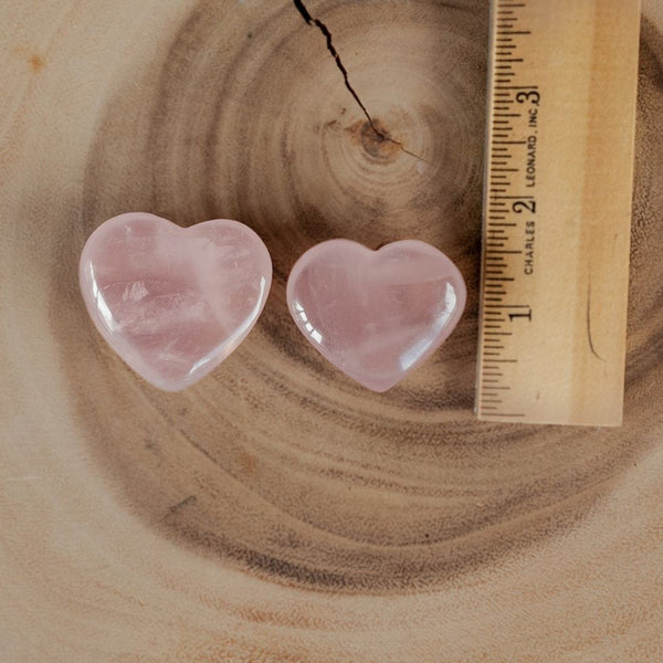 Rose Quartz Mini Heart