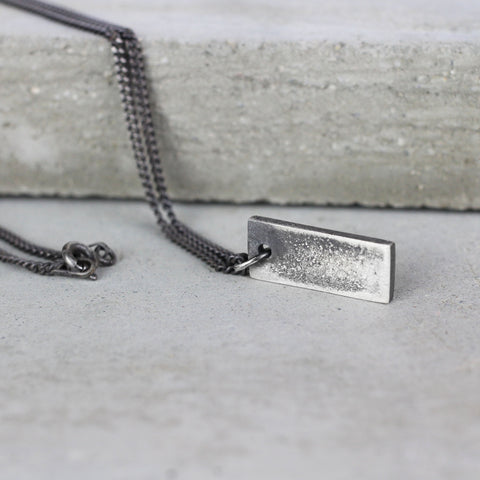 Small Dog Tag Necklace