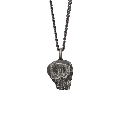 Rustic Skull Necklace