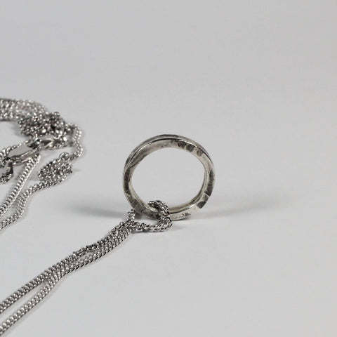 mens-silver-ring-necklace