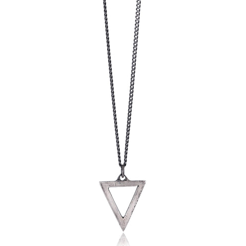 Triangle Pendant Necklace