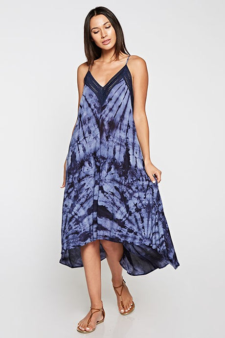 Moonlight Tie Dye Midi Dress