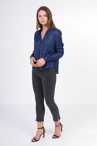 Twilight Blue Blouse