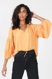 Creamsicle Blouse