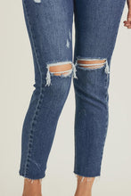 High Waist Distressed Jeans