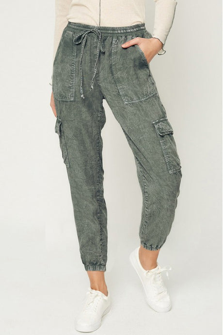 Mineral Wash Joggers