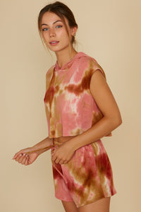 Mauve Mix Tie Dye Set (SEPARATES)