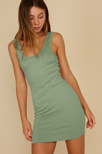 Fitted Mini Tank Dress