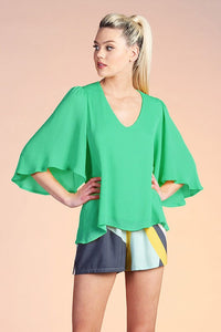 Emerald City Blouse