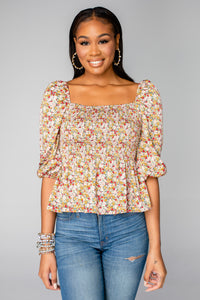 BUDDY LOVE Gwendolyn Orchard Top