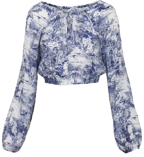 Willa Toile Top