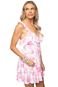 Buddy Love Julia Dress in Pink Antique