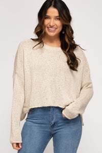 Natural Pullover Sweater