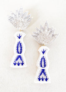 Blue Agave Earrings