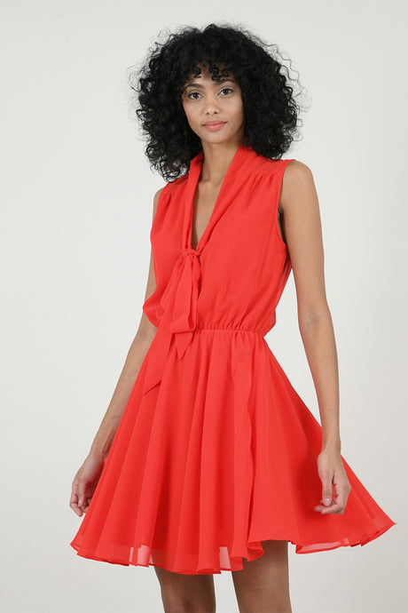 Red Coral Reef Dress
