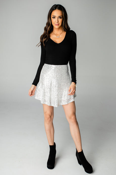 Buddy Love Reba Sequin Skirt