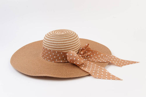 Buttercup Bow Straw Hat