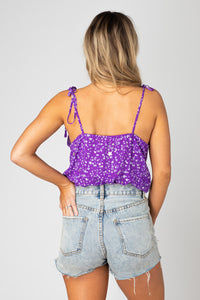Buddy Love Crystal Ultraviolet Bodysuit