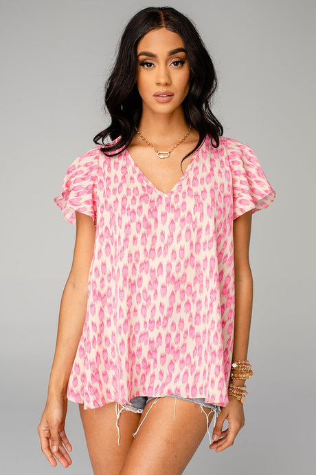 BUDDY LOVE Avril Pink Lady Top