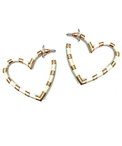 Epoxy Heart Hoops