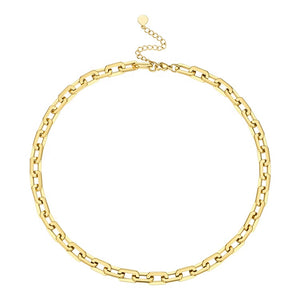 Oval Link Chain Necklace