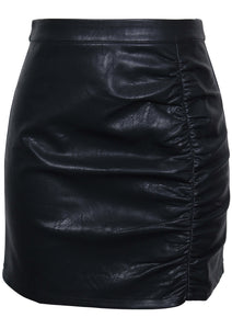 Hanna Ruched Mini Skirt