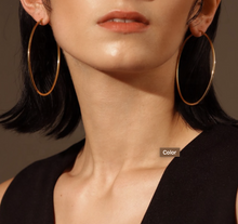 Thin Oval Hoops