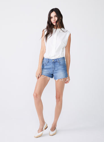 Laine Chevy Denim Shorts