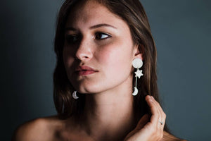 Cosmos Dangle Earrings